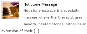 Hot Stone Spa