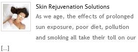 Skin Rejuvenation Spa